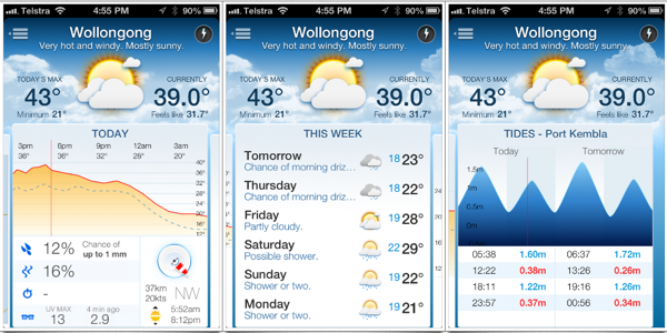 The best weather app for Australians: Pocket Weather AU